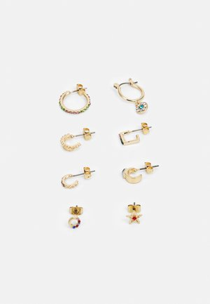 EARRING 4 PACK - Øredobber - gold-coloured