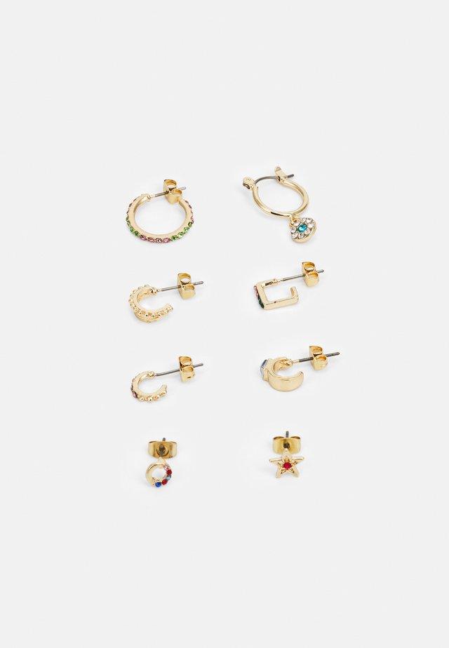 EARRING 4 PACK - Korvakorut - gold-coloured