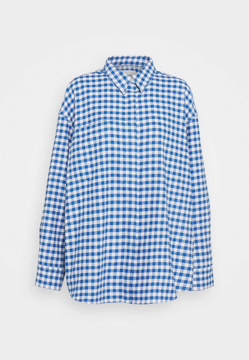 Holzweiler - DAISY CHECK SHIRT - Blouse - blue check