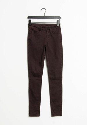 Trousers - dark purple