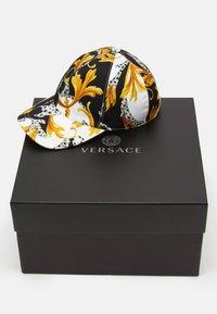 Versace - Casquette - bianco/nero/oro - 5