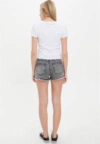 DeFacto - Denim shorts - grey - 2