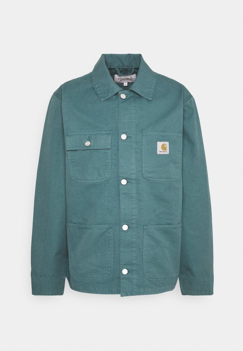 Carhartt WIP - MICHIGAN CHORE NEWCOMB - Summer jacket - hydro