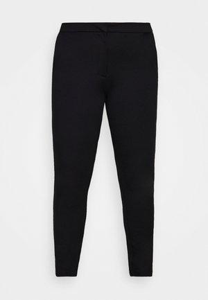 CARLENIA VIKA CIGARETTE - Trousers - black