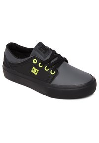 DC Shoes - TRASE - Trainers - black/yellow - 1