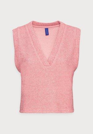 EUGENE VEST - Jumper - pink