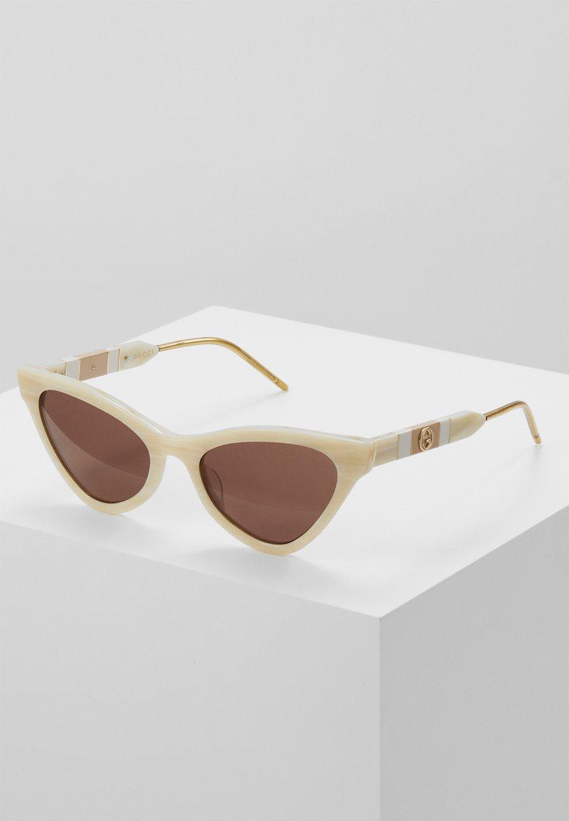Gucci - Sunglasses - beige/brown