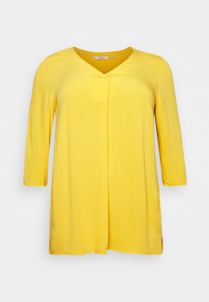 MY TRUE ME TOM TAILOR Bluse - new light khaki/khaki eR3QUp