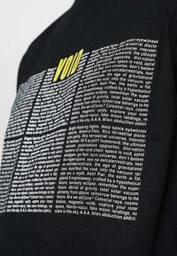 Diesel - T-JUST-LS-NEW T-SHIRT - Bluzka z długim rękawem - black - 6