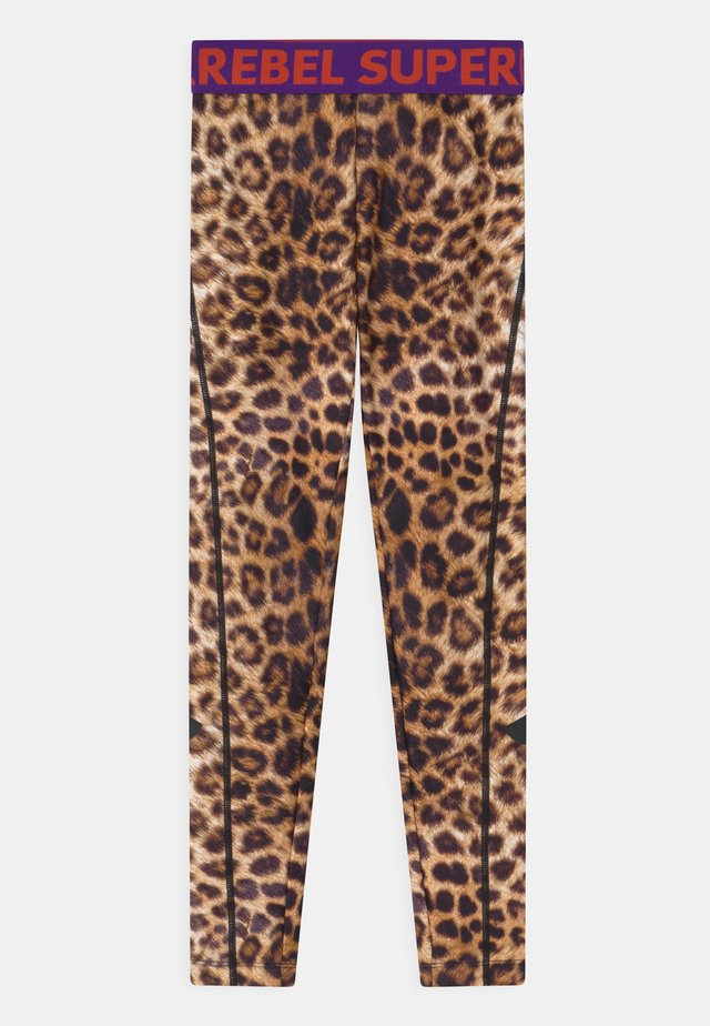 Tights - leopard