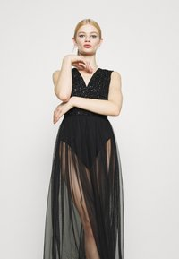 Lace & Beads - LILLIAN MAXI - Robe de cocktail - black - 3