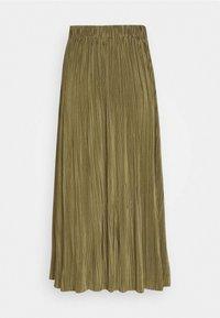 UMA SKIRT - Pleated skirt - air khaki