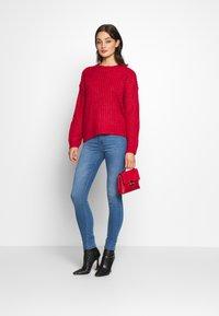 JDY - JDYNIKKI HIGH - Jeans Skinny Fit - light blue denim - 1
