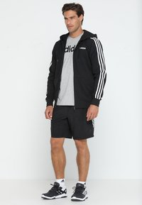 adidas Performance - Bluza rozpinana - black/white - 1