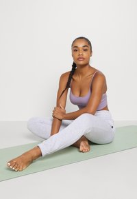Cotton On Body - LIFESTYLE GYM TRACK PANTS - Tracksuit bottoms - clody grey marle - 1
