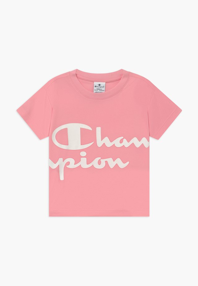 CHAMPION X ZALANDO PERFORMANCE BOXY TEE - Print T-shirt - light pink