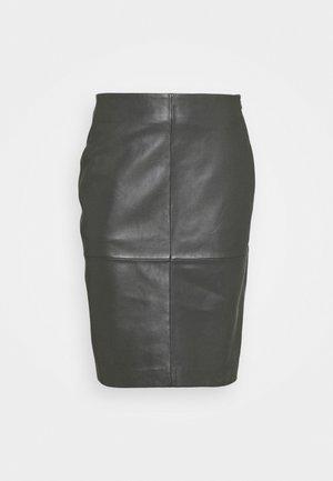 CECILIA - Pouzdrová sukně - understated black