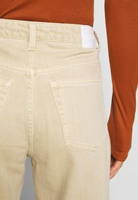 Weekday - LASH - Jeans relaxed fit - light beige - 4