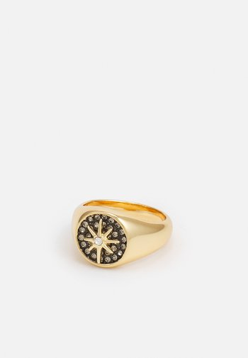PAVE STAR RING - Ring - gold-coloured