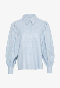 Ibana - TALIA - Button-down blouse - ice blue - 0