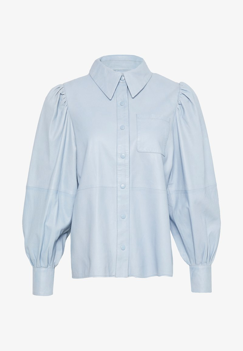 Ibana - TALIA - Button-down blouse - ice blue