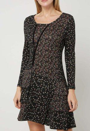 MIT VOLANTS - Day dress - schwarz