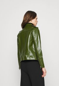 Deadwood - RIVER CACTUS - Faux leather jacket - green - 2