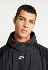 Nike Sportswear - HOODIE WINTER - Hættetrøjer - black/off noir/gym red/white - 4