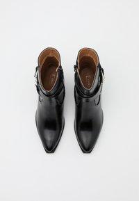 ONLY SHOES - ONLBLAKE STRAP BOOT - Korte laarzen - black - 5