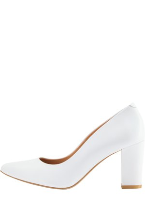 High heels - weiss