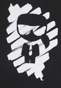KARL LAGERFELD - IKONIK GRAFFITI  - T-Shirt print - black - 6