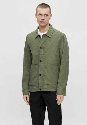 ERIC - Giacca leggera - mottled light green