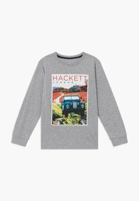 Hackett London - ROAD TEE - Top s dlouhým rukávem - grey - 0