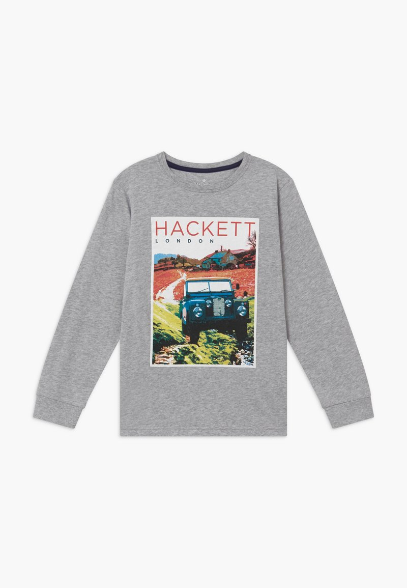 Hackett London - ROAD TEE - Top s dlouhým rukávem - grey