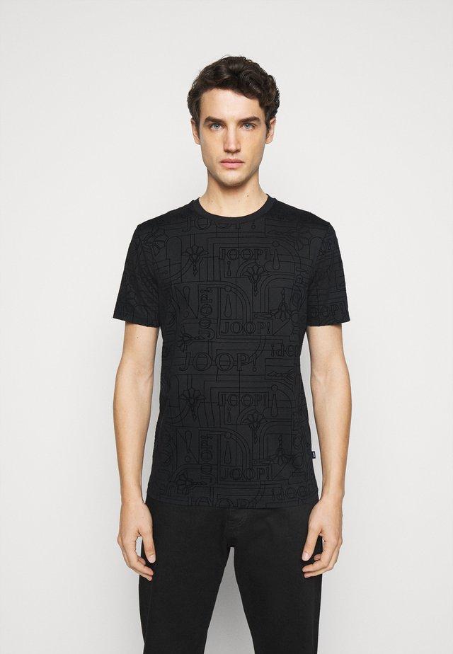 PANOS - Print T-shirt - black