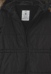 GAP - GIRL WARMEST - Winter coat - true black - 3
