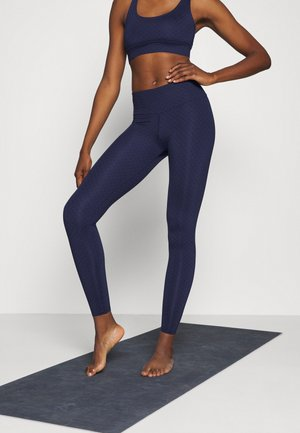 LEGGINGS RISING SUN - Punčochy - dark blue
