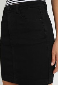 Missguided - SUPERSTRETCH SKIRT  - A-line skirt - black - 4