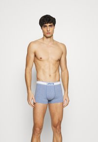 Levi's® - MEN TRUNK VINTAGE HEATHER 2 PACK - Panties - light blue - 1
