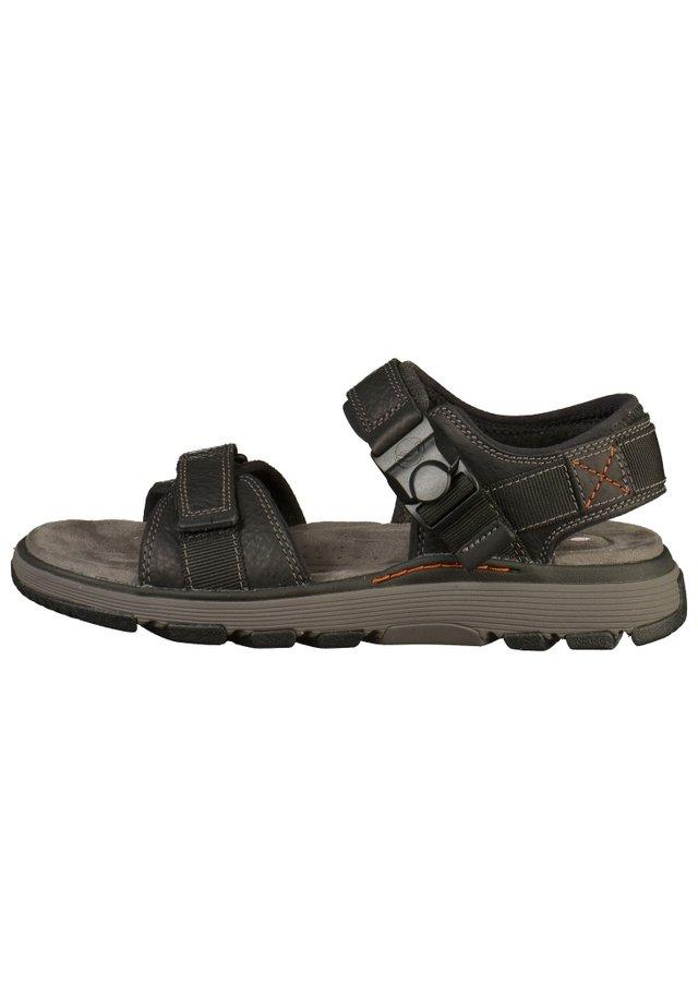 Walking sandals - black