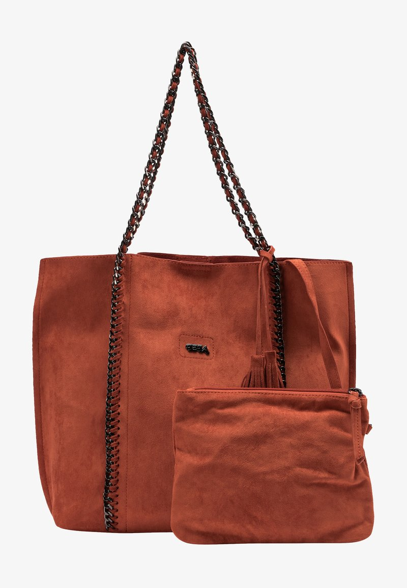 IZIA - Tote bag - rost