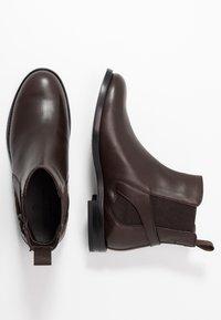 Belstaff - NEWINGTON CLEAN - Kotníková obuv - dark brown - 3