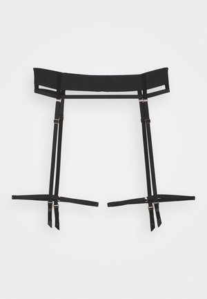 HALE SUSPENDER - Jarretels - black