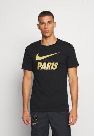 PARIS ST GERMAIN TEE GROUND - Equipación de clubes - black