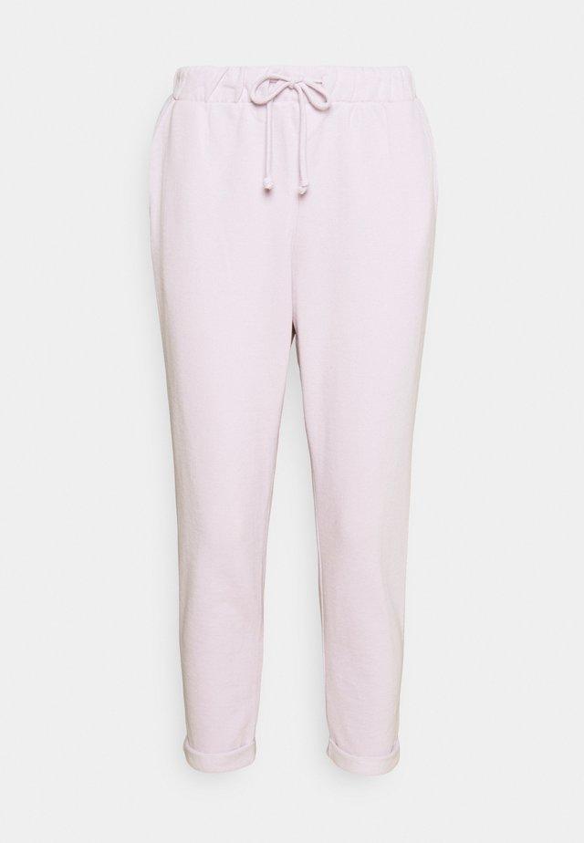 BASIC JOGGER - Teplákové kalhoty - lilac