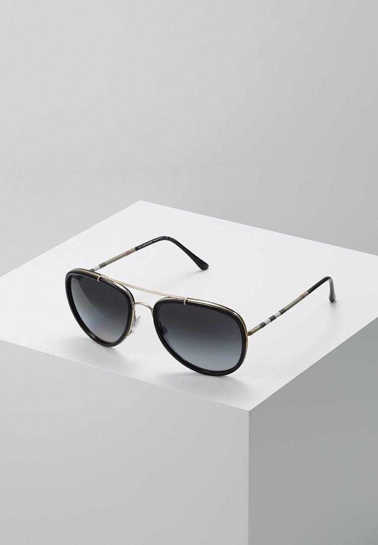 Burberry - Lunettes de soleil - brushed light gold/black/ polar grey