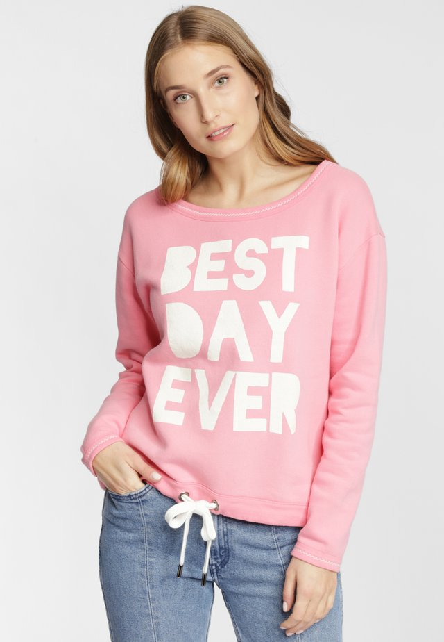 Sweatshirt - tearose