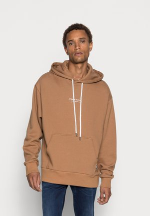 SUPPLY RECYCLED PULL ON HOOD - Hoodie - camel