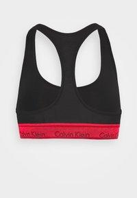 Calvin Klein Underwear - MODERN UNLINED BRALETTE - Bustier - black/red - 7