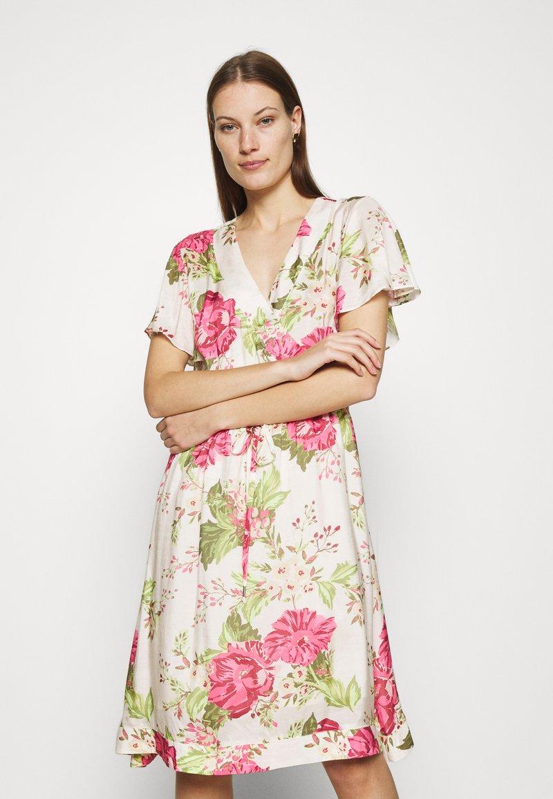 Mos Mosh - TACY ROSE DRESS - Day dress - ecru